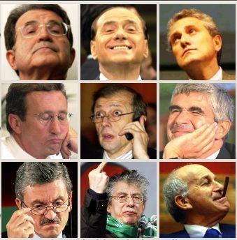 La casta politica ci costa 24 7 miliardi di euro all anno for Politici di destra nomi