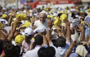 Papa Francesco a Lampedusa