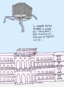 14 novembre - Il lander atterra sul Palazzo. Magari...