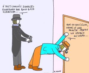 28 novembre - Non sempre dal buco della serratura si vede quello che si vuole