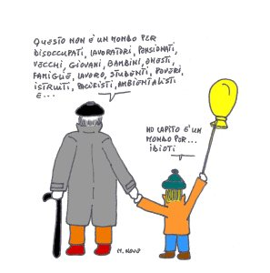 01 marzo - Il vecchio saggio e il bambino realista