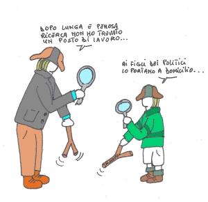 11 aprile - Cercatori di lavoro