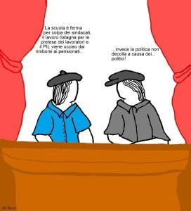 12 maggio - Se il Paese va male basta incolpare il sindacato... o peggio