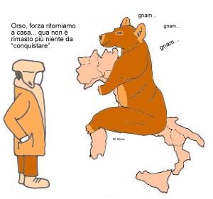 giugno 12 - Un orso alla ricerca di un nuovo Paese per...
