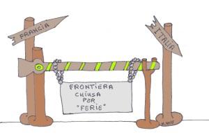 giugno 15 - Meno male Che le frontiere erano libere ...