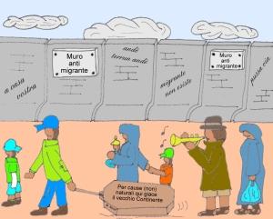 giugno 19 - La civiltà sbatte contro i muri inalzati