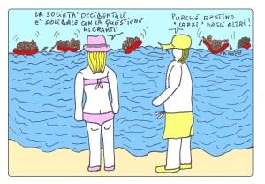 03 luglio - Tra muti, orbi e sordi non si discute più dei migranti