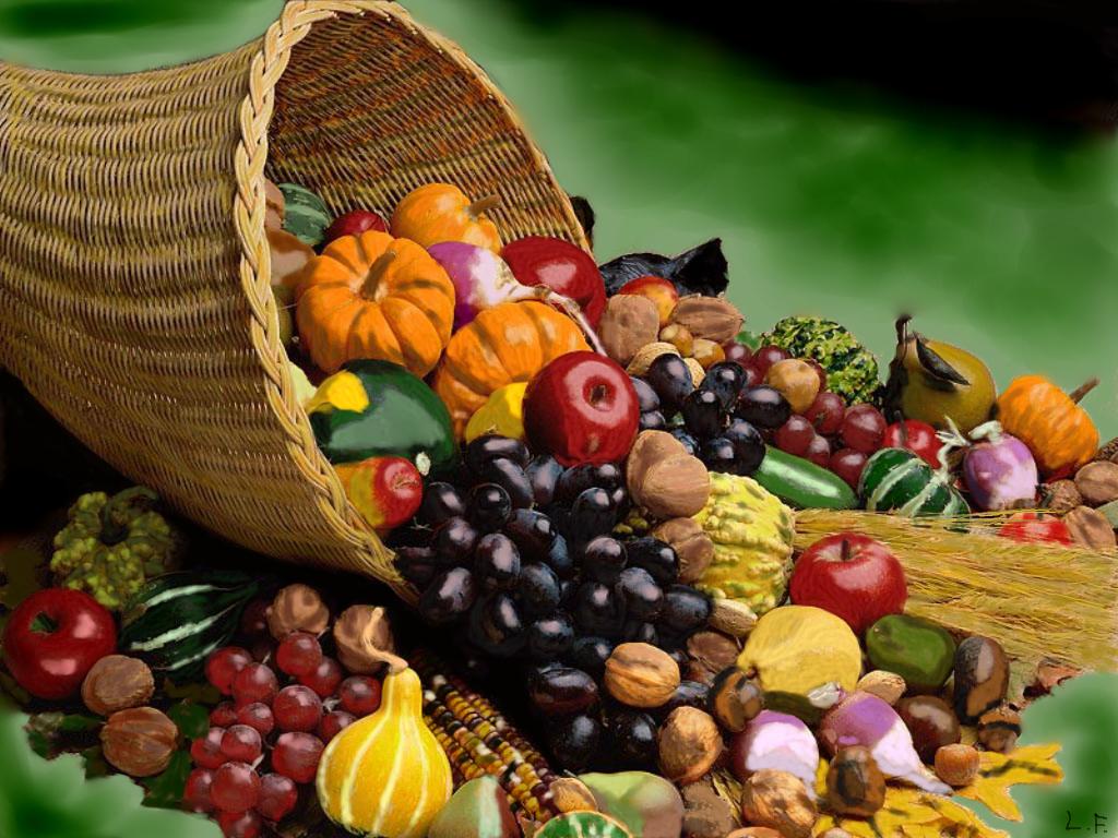 L amara verit delle verdure il malpaese - Contorno di immagini di frutta ...