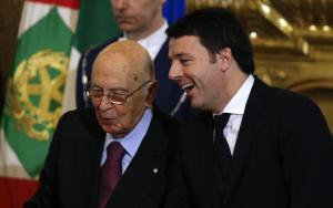 Renzi-e-Napolitano