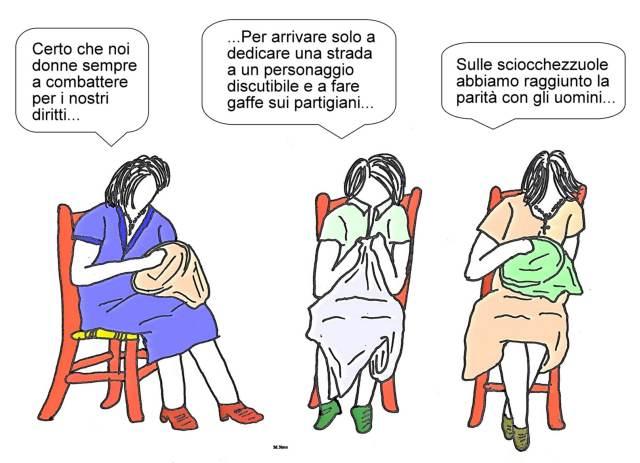 24 maggio - Gli uomini zitti... ma anche le donne