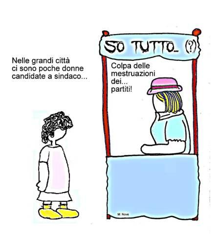 04 giugno - Tanti candidati, poche donne