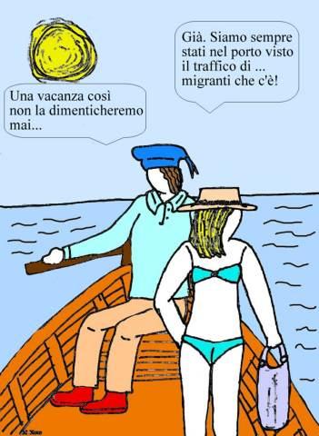 18 agosto - Nuovi tipi di vacanze...