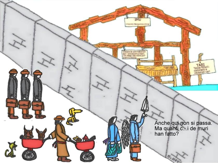 22 dicembre - Ostacoli non previsti lungo la strada... verso la mangiatoia.jpg