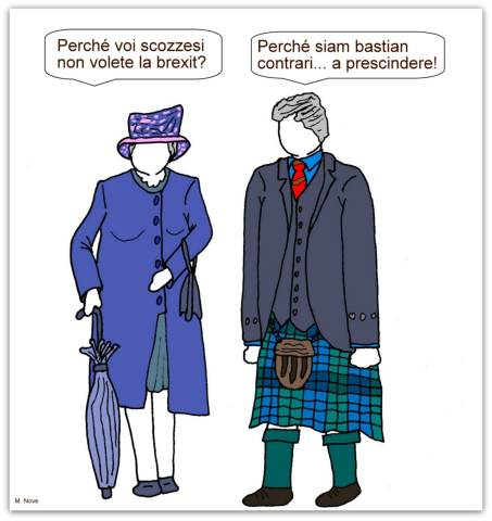 16 marzo - Scozia Vs Brexit