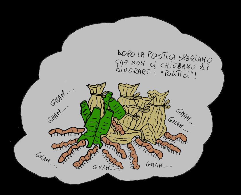 27 aprile - Scoperti vermi che mangiano la plastica.png