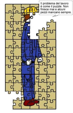 03 maggio - Il puzzle degli operai