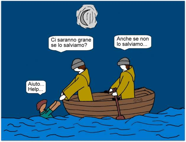14 maggio - Polemiche infinite su chi salva vite UMANE