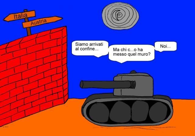 07 luglio - Tra muri, fili spinati e mezzi militari le frontiere non sono... sicure!