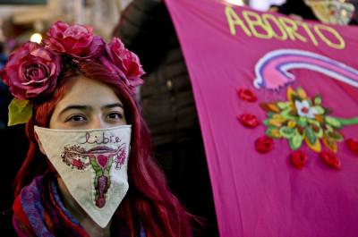 APTOPIX Chile Abortion Protest