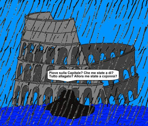 12 settembre - Quando la «promessa» di non far allagare la città non funziona