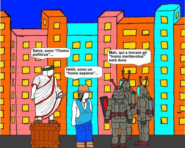 19 novembre - Alieni dell'uomo cercano... e del nulla trovano!