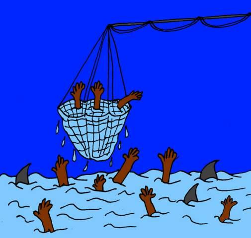 09 dic - La vita dicon sia iniziata dal mare... di certo finisce nel divieto allo sbarcare!
