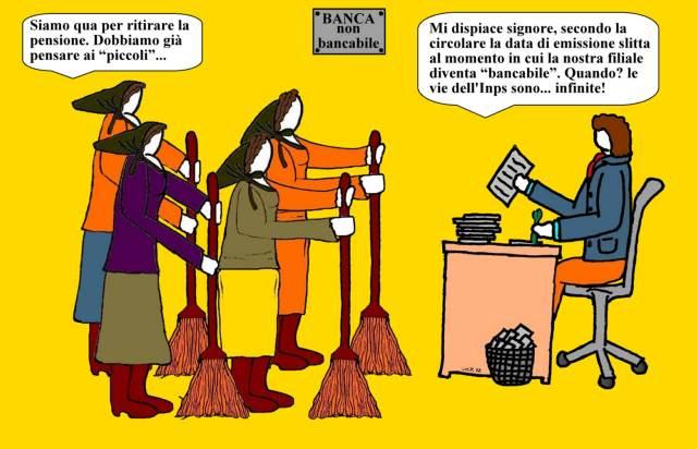 03 gen - Sorpresa per i pensionati... l'anno nuovo fa slittar il dovuto ai malcapitati!