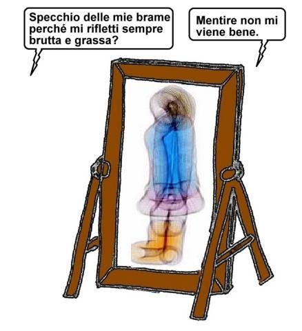10 gen - Dopo le feste la prova specchio... non mente al secchio!