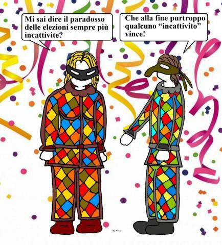 13 feb - Sempre quesiti ci poniamo... anche quando nel divertimento siamo!