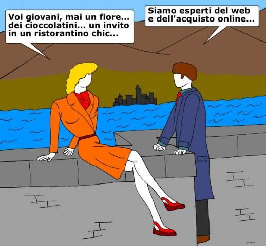20 mar - Il romanticismo l'è morto... per l'insorgenza di un certo «porto»!
