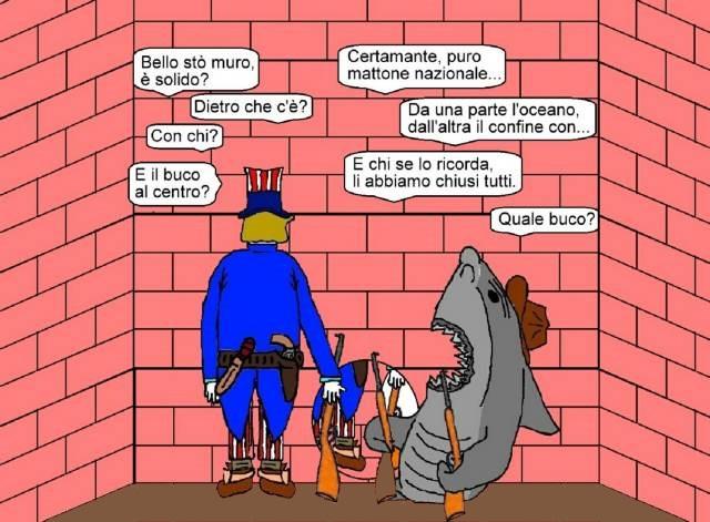 28 giu - La politica è basata sui muri... sulla tolleranza da «duri»!.jpg