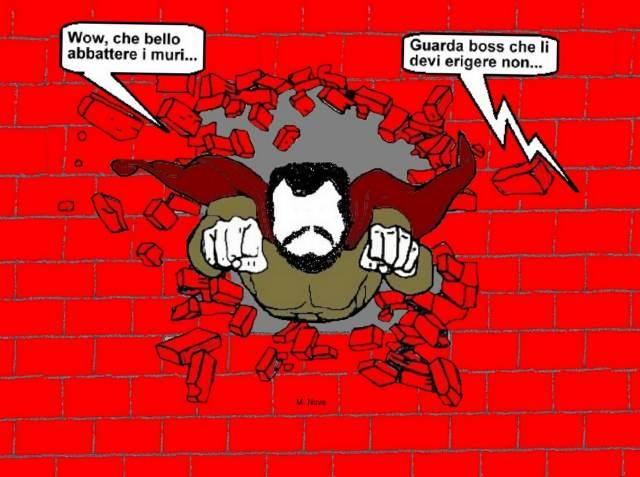 23 lug - I muri son tanti... che abbatterli si sprecan i «santi»!