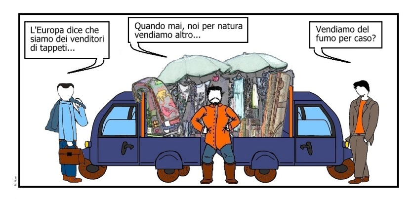 24 nov - L'accusa di vendere tappeti... in fondo fa rima con i peti!.jpg