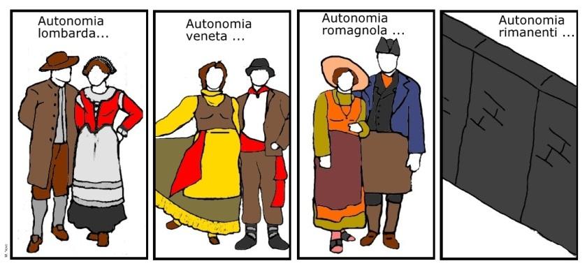 17 feb - Richiesta forma di autonomia... a spese degli altri per l'economia!