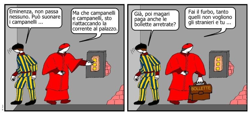14 mag - Il cardinale la luce riattacca... mentre gli altri in testa hanno una placca!.jpg