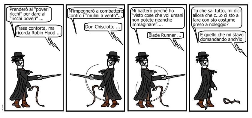 17 mag - Zorro si crede d'essere... ma neanche del sergente Garcia ha le tessere!.jpg