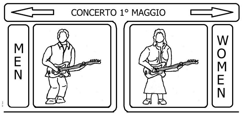 2 mag - Donne «mai cosi tante»... al concerto poco rappresentante!.jpg