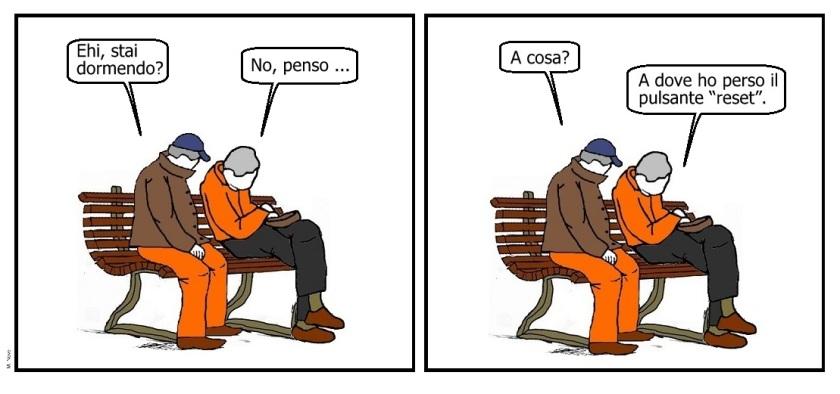 29 mag - Il vecchio è saggio... è la memoria che non fa da paggio!