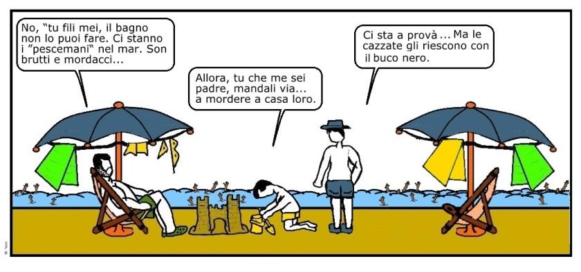 09 lug - Il bagno da oggi fa male...  ci sono troppi corpi nel canale!.jpg