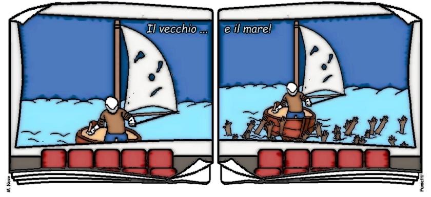 13 feb - Per ricordare che nel mare... niente e nessuno può restare!