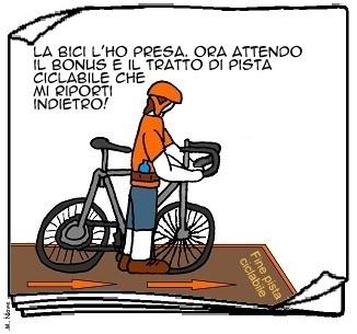 02 lug - Fanno comprare le biciclette... per le strade troppo strette!
